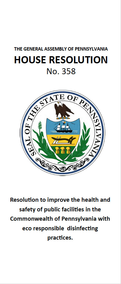 House Resolution 358 - Imrpoving the health and safety of public facilities