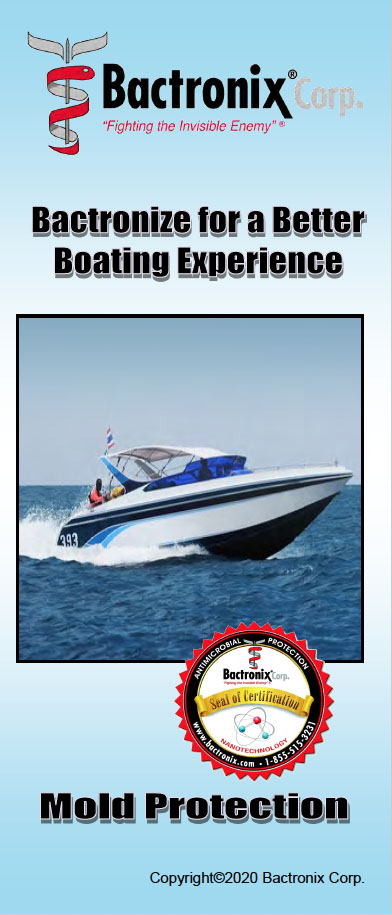 Disinfecting boats and. yachts - Mold remediation