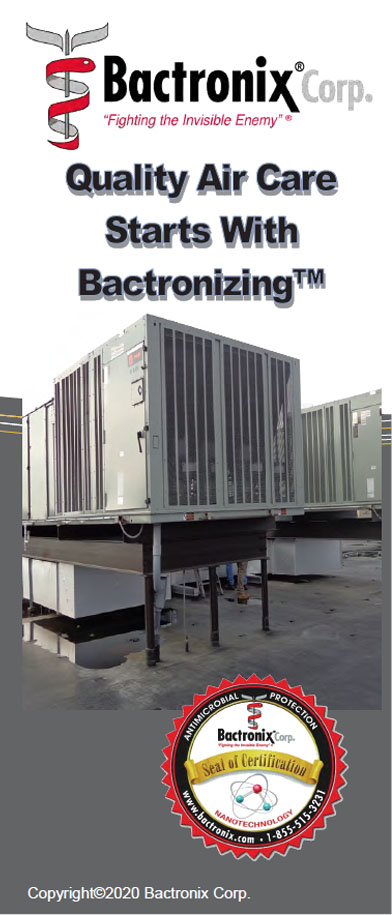 Sanitizing and Disinfecting air conditioning and heating systems