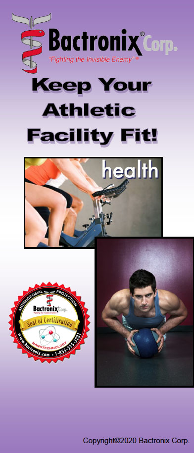 Disinfecting Gyms and Spas - Mold, virus and odor removal